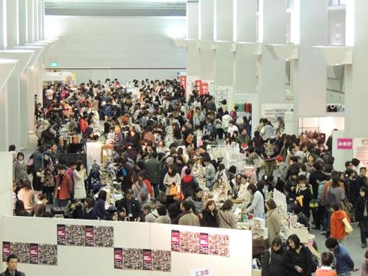 大阪アート&てづくりバザールvol.11会場風景